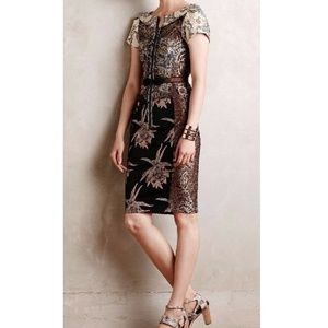 Embroidered Brocade Dress From Beguile